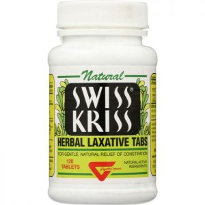 Swiss® Kriss Herbal Laxative Tabs